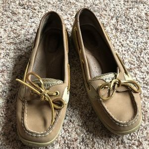 Sperry Top-sider glitter boat shoe size 7M